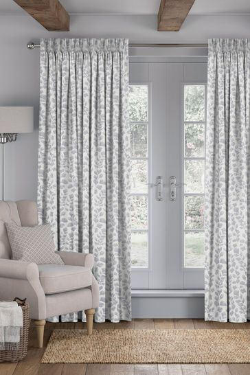Flint Grey Lucerne Made To Measure Curtains