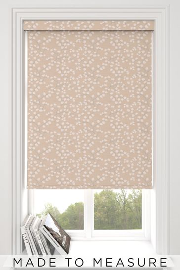 Gilley Blush Pink Made To Measure Roller Blind