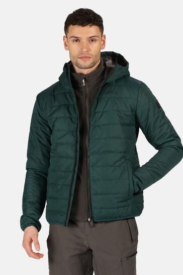 Regatta Green Helfa Insulated Baffle Jacket
