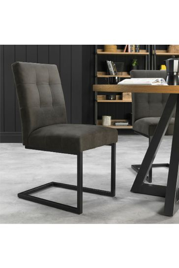 Set of 2 Indus Cantilever Chair by Bentley Designs