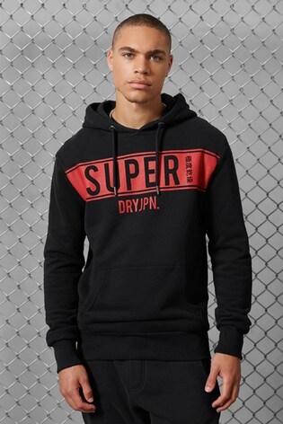 Superdry Superdry Panel Fleece Hoody