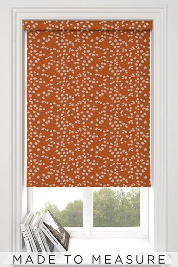 Gilley Terracotta Orange Made To Measure Roller Blind