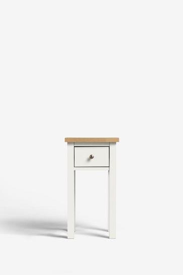 Malvern Slim 1 Drawer Bedside Table