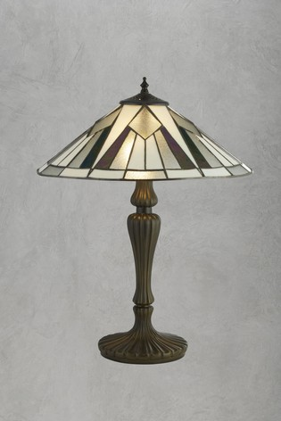 Gordo Tiffany Table Lamp by Searchlight
