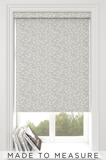 Gilley Stone Grey Made To Measure Roller Blind