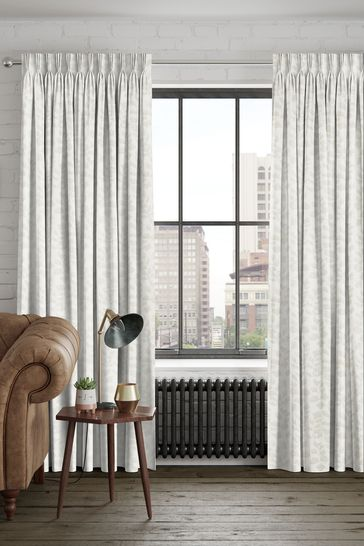 Lucerne Oyster Natural Made To Measure Curtains