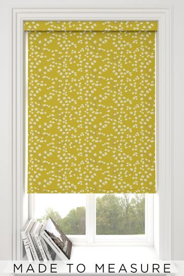 Gilley Chartreuse Green Made To Measure Roller Blind
