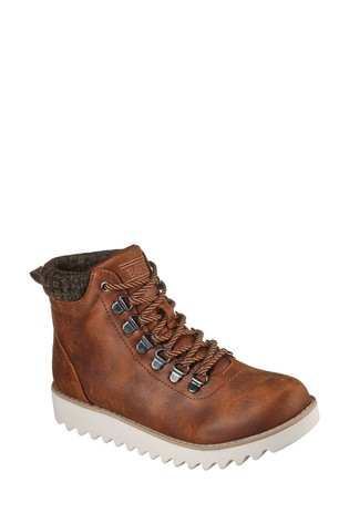 Skechers Brown Mountain Kiss Trainers