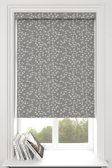 Gilley Steel Grey Made To Measure Roller Blind