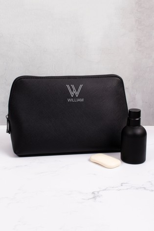 Personalised Large Wash Bag by Loveabode