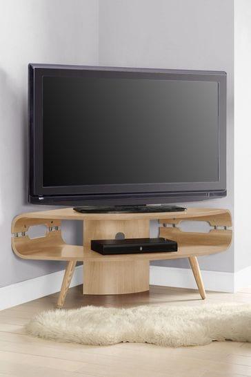 Havana Oak Corner TV Stand By Jual