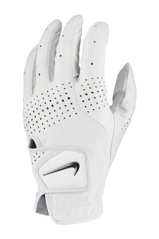 Nike Mens White LH Tour Golf Glove