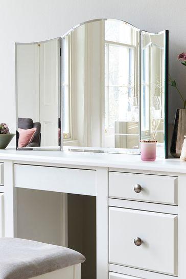 Tri Fold Dressing Table Mirror