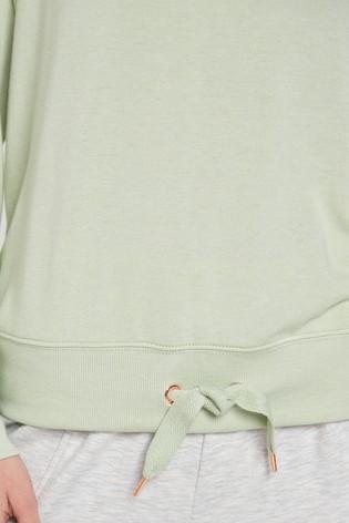 Mint Cosy Drawstring Top