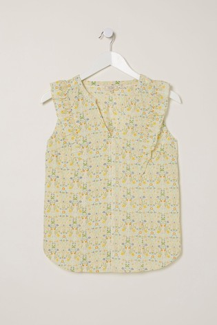 FatFace Natural Mollie Summer Meadow Ditsy Cami