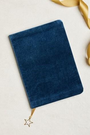 A5 Velvet Notebook