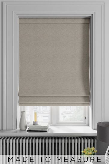 Soho Sand Natural Made To Measure Roman Blind