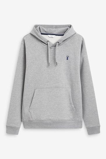 Grey Overhead Hoodie Jersey