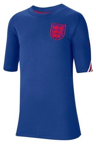 Nike Blue England Strike T-Shirt
