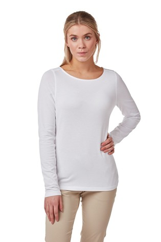 Craghoppers White Erin Top
