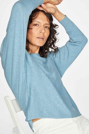 Thought Blue Polly Dolman Jumper