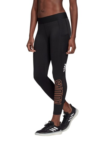 adidas Black Alpha Skin 7/8 Leggings