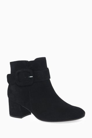 great prices quite nice los angeles Buy Gabor Black Capri Womens Modern Suede Ankle Boots from Next ...