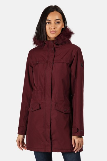 Regatta Purple Serleena II Waterproof Jacket