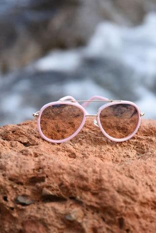 Angel's Face Pink Sabrina Sunglasses