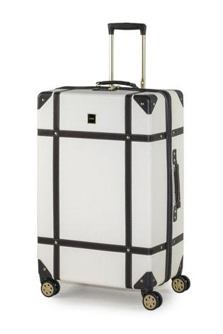 Rock Luggage Vintage Large Hard Shell Suitcase