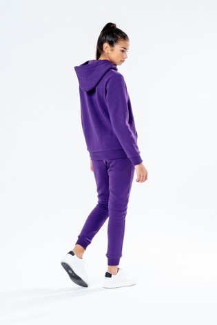Hype. Purple Overhead Hoody and Joggers Set