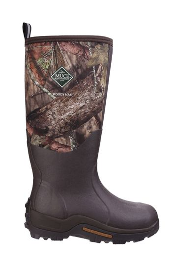 Muck Boots Brown Woody Max Cold-Conditions Hunting Boots