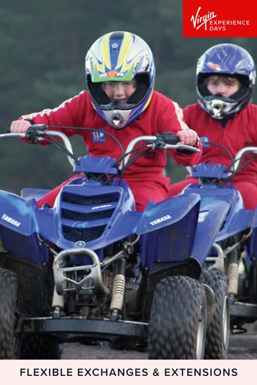 Junior Quad Biking For Two Gift by Virgin Experience Days