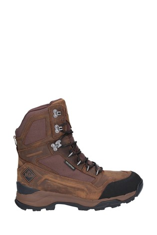 "Muck Boots Brown Summit 8"" Warm Weather Performance Boots"