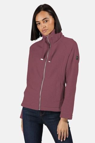 Regatta Pink Zaylee Full Zip Fleece Jacket