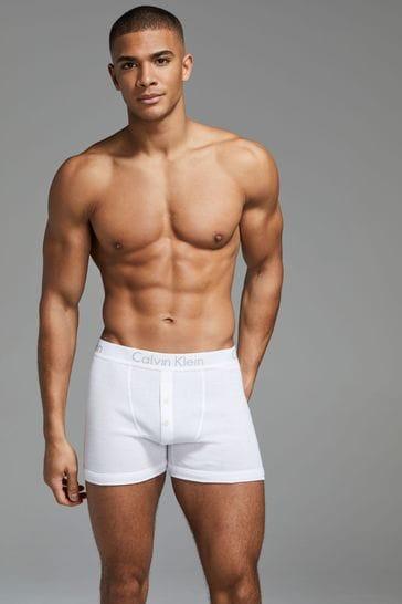 Calvin Klein White Boxer Briefs