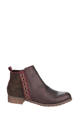 Divaz Demi Pull On Ankle Boots