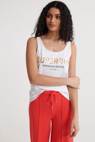 Superdry Premium Sequin Classic Vest
