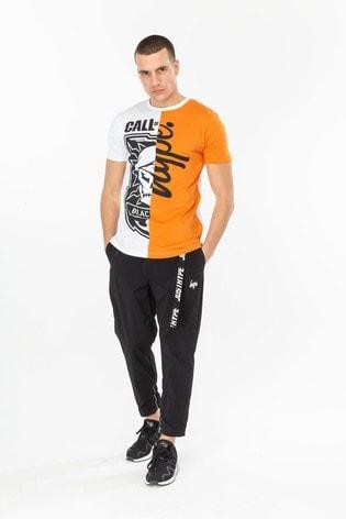 Hype. X COD Badge Script Men's T-Shirt