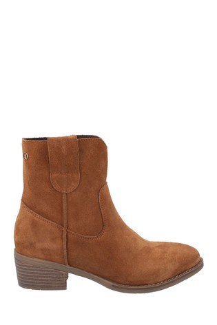 Buy Hush Puppies Tan Iva Ladies Ankle Boots From The Next Uk Online Shop