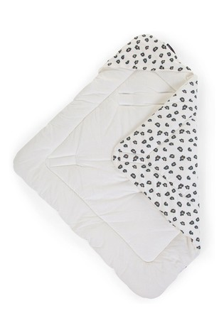 Childhome Super Soft Leopard Print Baby Wrap Blanket