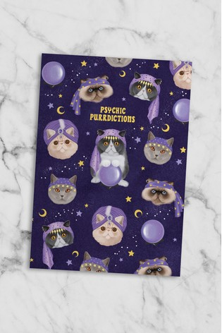 Central 23 Psychic Cats Notebook