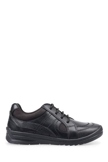 Start-Rite Yo Yo Black Leather Shoes