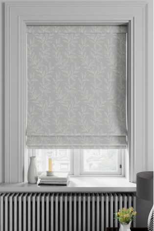 Linara Dove Grey Made To Measure Roman Blind