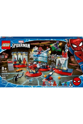 LEGO 76175 Spiderman Attack On The Spider Lair