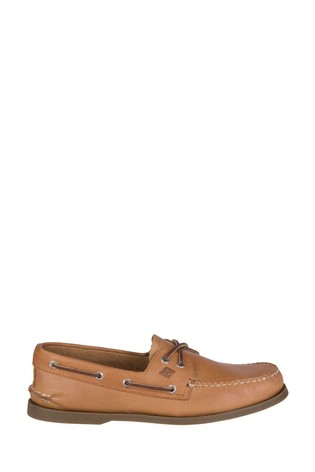 Sperry Tan Authentic Original Leather Boat Shoes