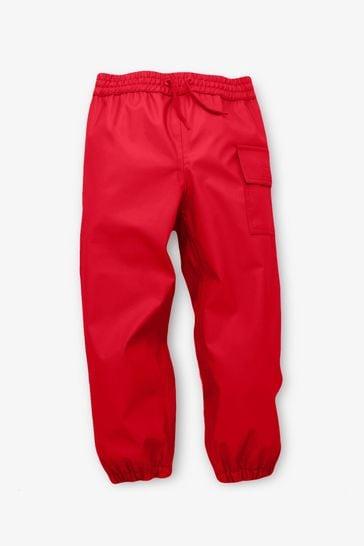 Hatley Red Splash Trousers