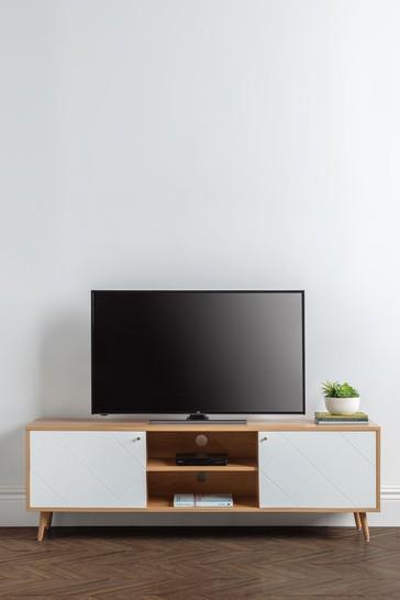Moritz TV Unit Oak by Julian Bowen