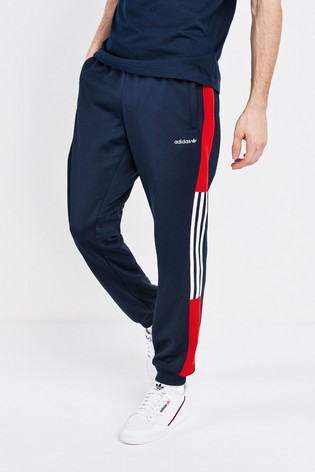 adidas Originals Navy Colourblock Joggers