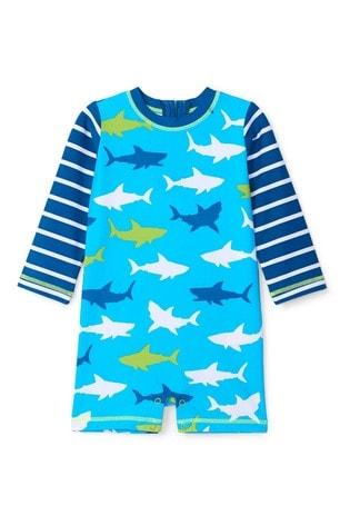 Hatley Great White Sharks Baby One-Piece Rashguard